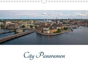 City - Panoramen (Wandkalender 2021 DIN A4 quer)