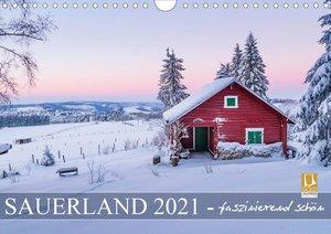 Sauerland - faszinierend schön (Wandkalender 2021 DIN A4 quer)