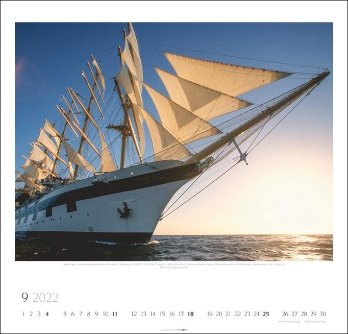 Tall Ships Kalender 2022