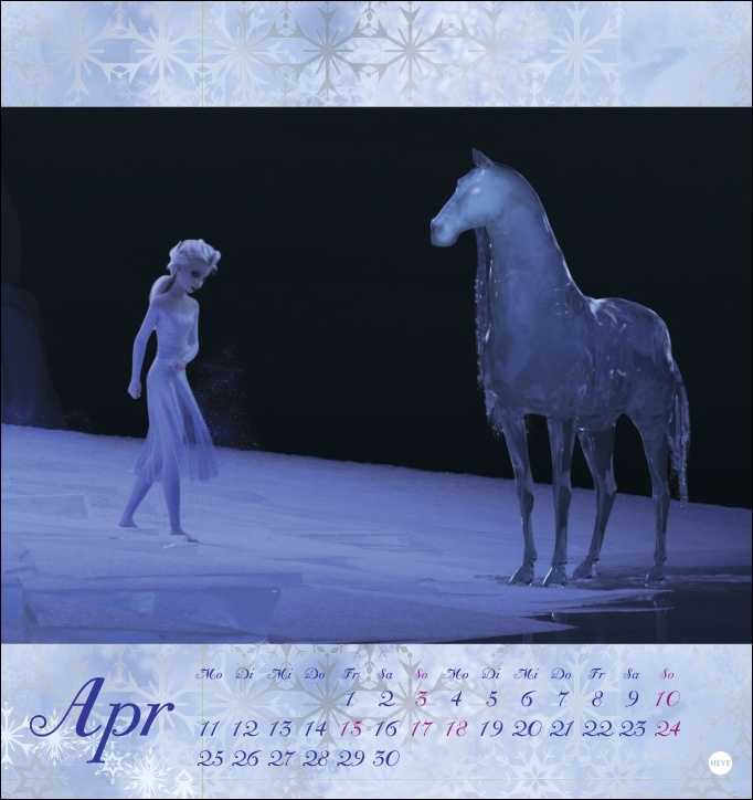 Die Eiskönigin 2 Postkartenkalender 2022