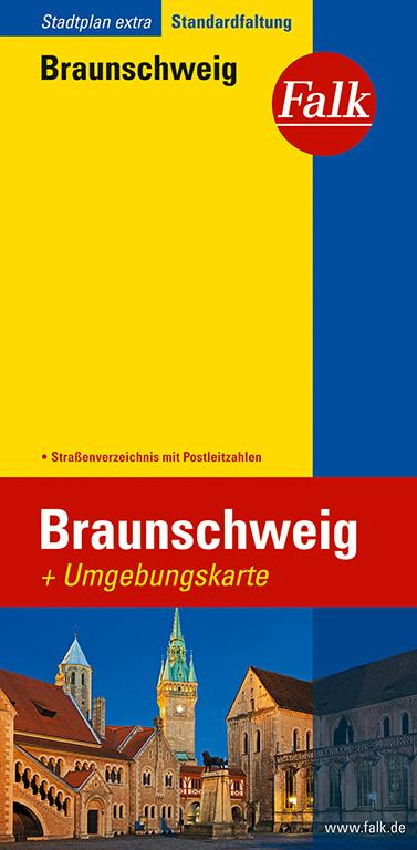Falk Stadtplan Extra Standardfaltung Braunschweig 1:20 000