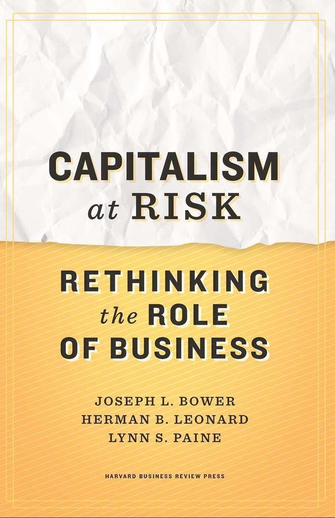 Capitalism at Risk