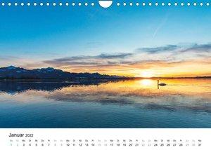 Deutschland - Bei Tag und Nacht (Wandkalender 2022 DIN A4 quer)