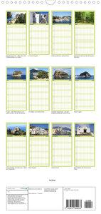 Ischia - Familienplaner hoch (Wandkalender 2022 , 21 cm x 45 cm, hoch)