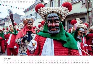 Die Elzacher Fastnacht (Wandkalender 2021 DIN A4 quer)