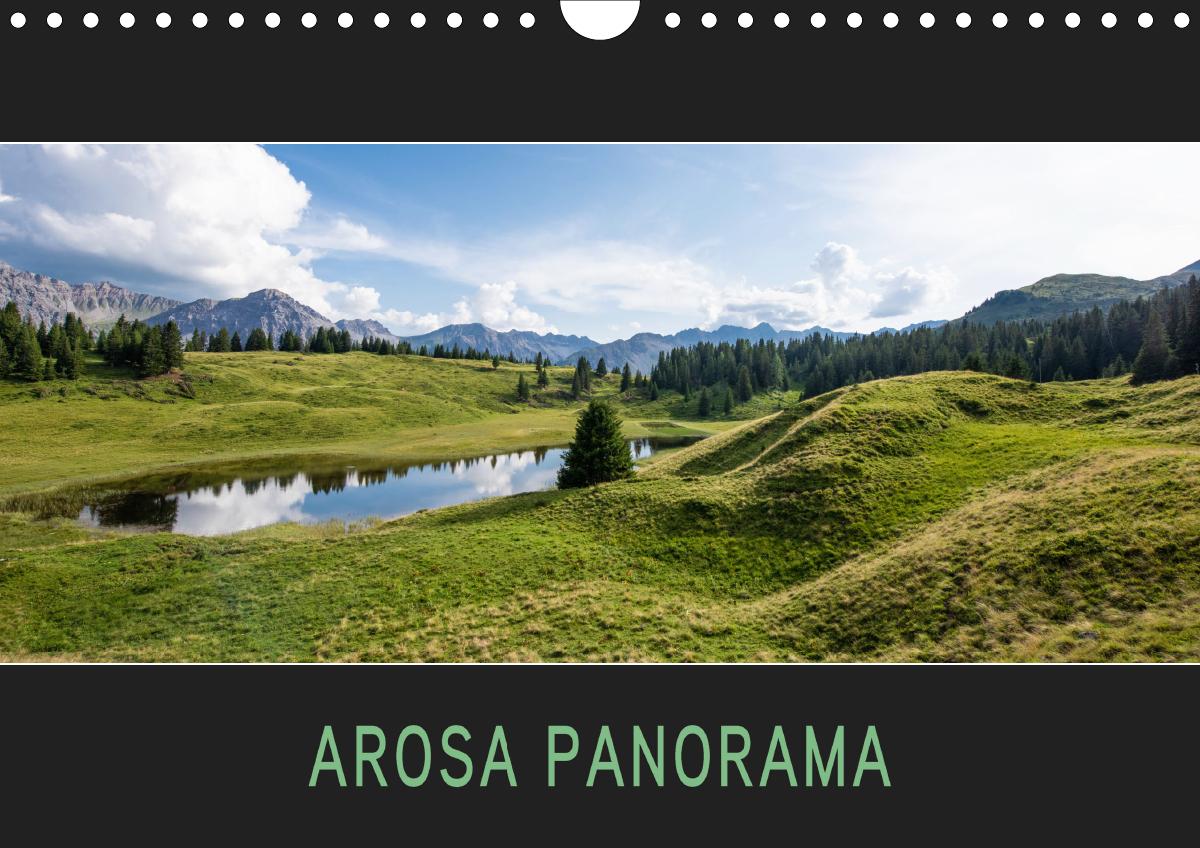 Arosa Panorama (Wandkalender 2021 DIN A4 quer)