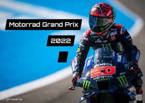 Motorrad Grand Prix 2022 - Kalender | MotoGP DIN A2