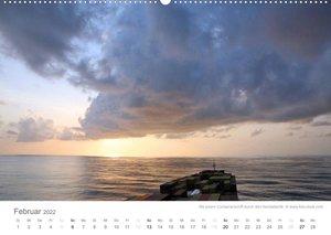 Faszination Schifffahrt - Meere und Hafenstädte (Wandkalender 2022 DIN A2 quer)