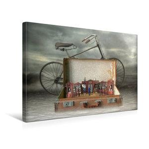 Premium Textil-Leinwand 45 cm x 30 cm quer Ein Motiv aus dem Kalender Wortw?rtlich genommen