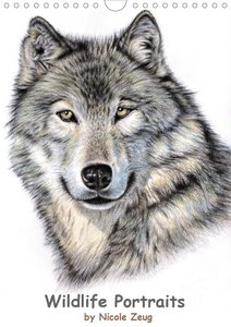 Wildlife Portraits (Wandkalender 2021 DIN A4 hoch)