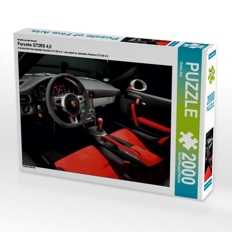 Ein Motiv aus dem Kalender Porsche GT3RS 4,0 2000 Teile Puzzle q