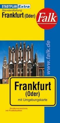 Falk Stadtplan Extra Standardfaltung Frankfurt/Oder
