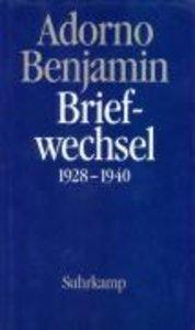 Briefwechsel 1928-1940