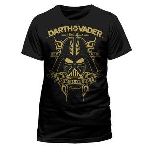 Darth Vader (T-Shirt,Schwarz,Größe XL)