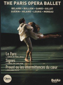 Ballett der Pariser Oper, 3 DVDs. The Paris Opera Ballett
