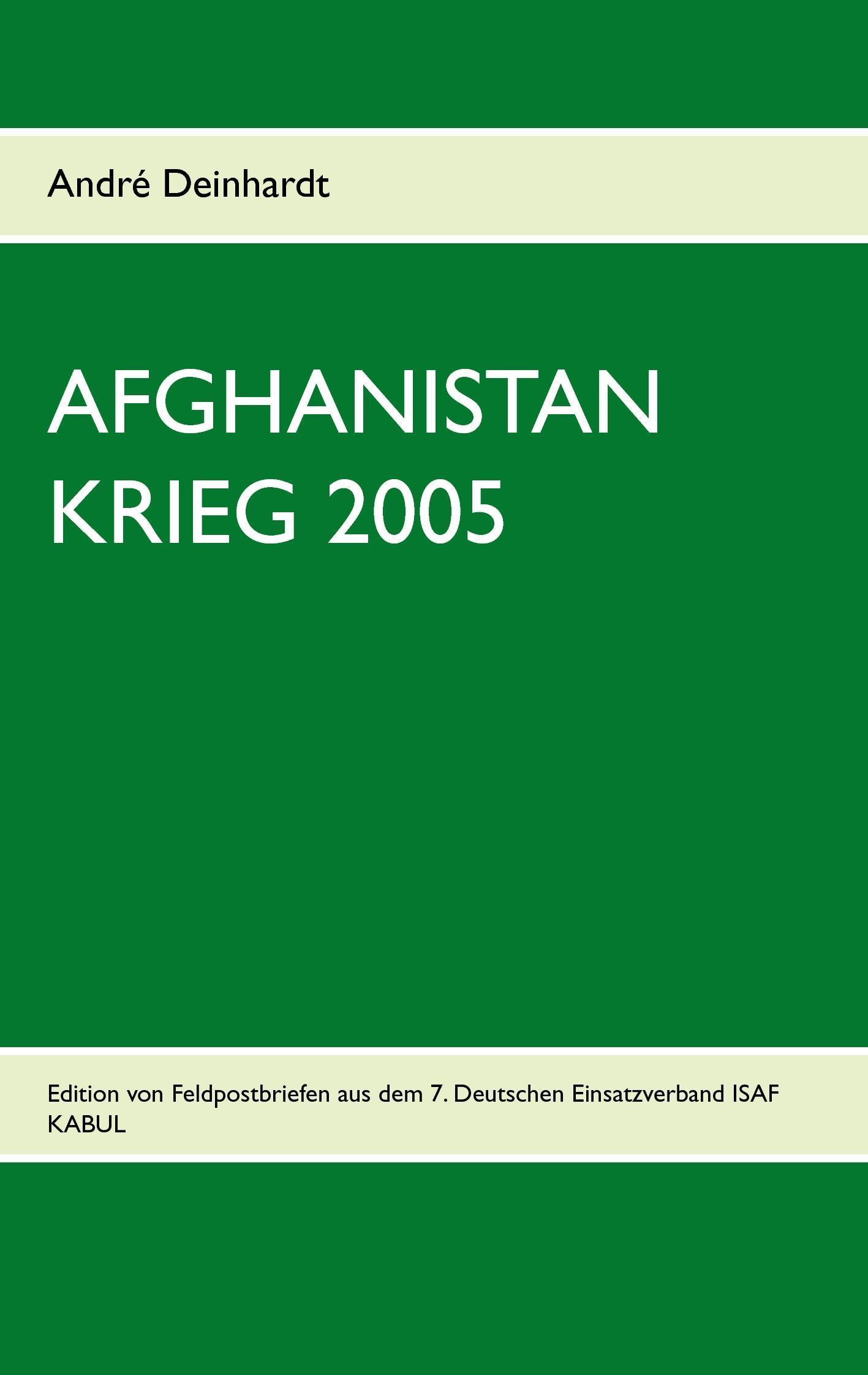 AFGHANISTAN KRIEG 2005