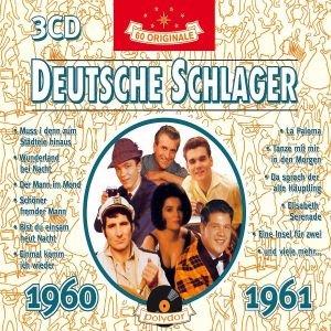 Deutsche Schlager 1960-1961, 3 Audio-CDs