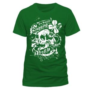 Green Shamrock (T-Shirt,Grün,Größe S)