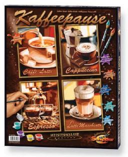 Schipper Malen nach Zahlen - Kaffeepause  (Quattro)