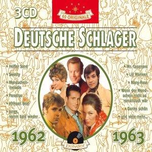 Deutsche Schlager 1962-1963, 3 Audio-CDs