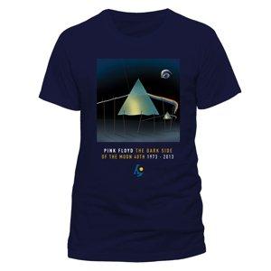 Dark Side Of The Moon Dali (T-Shirt,Blau,Gr.XL)