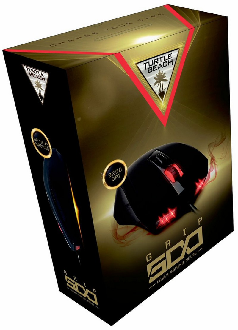 Turtle Beach GRIP 500 Premium Illuminated Laser Gaming Mouse für