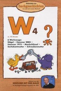 Bibliothek der Sachgeschichten - W4, 6 Werkzeuge, 1 DVD