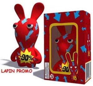 Rayman Raving Rabbids - PVC Figur - Discount Image