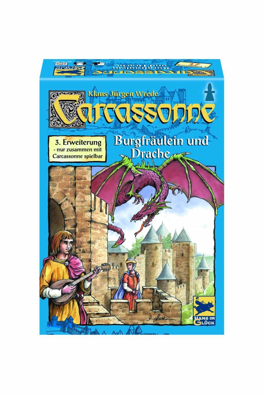 Carcassonne. Burgfräulein & Drache