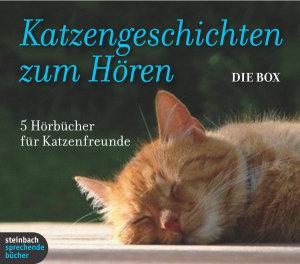 Katzengeschichten zum Hören - Die Box, 7 Audio-CD