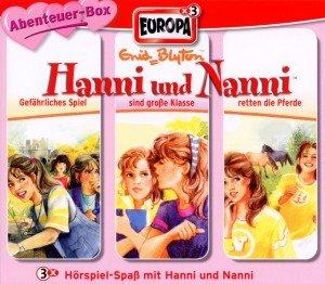 Hanni und Nanni - Abenteuer-Box, 3 Audio-CDs