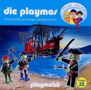 Die Playmos - Gespenstig gruselige Geisterpiraten, 1 Audio-CD