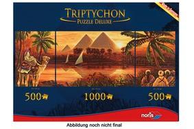 Triptychon Puzzle 2000 tlg. Pyramiden