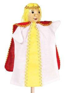 Goki 51992 - Handpuppe Prinzessin, 27cm