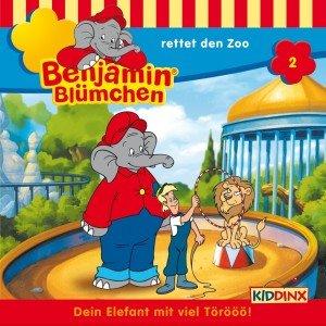 Benjamin Blümchen 002. ... rettet den Zoo. CD