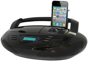 Tragbares CD-Radio CD43 mit Docking Station für iPod®/iPhone®