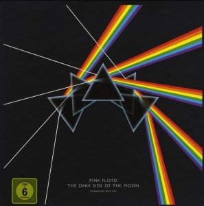 The Dark Side Of The Moon, 3 Audio-CDs + 1 DVD + 1 DVD-Audio + 1 Blu-ray