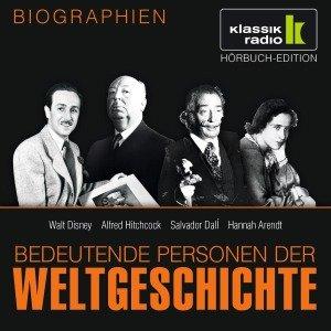Walt Disney. Alfred Hitchcock. Salvador Dalí. Hannah Arendt, 1 Audio-CD
