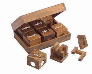 Philos 6248 - Cube-Edition II, 6 unterschieldiche Knobelspiele