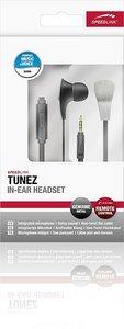 TUNEZ In-Ear Headset, metallic