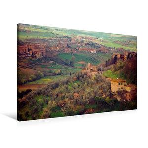 Premium Textil-Leinwand 90 cm x 60 cm quer Ein Motiv aus dem Kalender Oberitalien in den Siebzigern, Toskana, Toskany