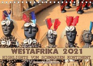 Westafrika, Highlights vom schwarzen Kontinent (Tischkalender 20