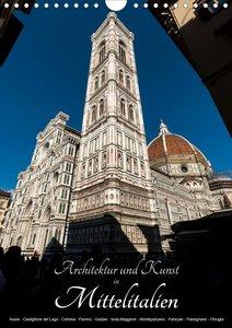 Architektur und Kunst in Mittelitalien (Wandkalender 2021 DIN A4