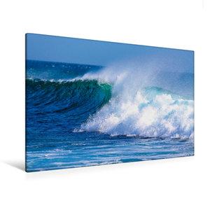 Premium Textil-Leinwand 120 cm x 80 cm quer Atlantic