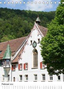 Blaubeuren I Das Kloster - Der Blautopf - Der Ort (Tischkalender 2022 DIN A5 hoch)