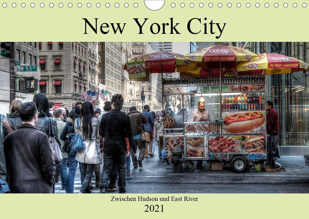 New York City - Zwischen Hudson und East River (Wandkalender 202