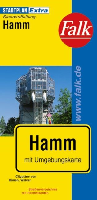 Falk Stadtplan Extra Standardfaltung Hamm