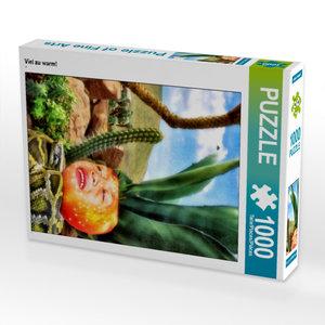 CALVENDO Puzzle Viel zu warm! 1000 Teile Lege-Größe 48 x 64 cm F