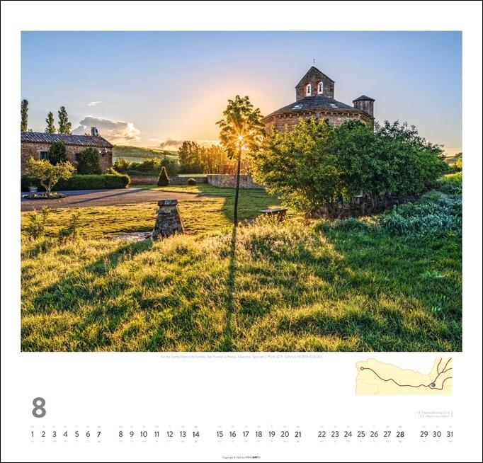 Auf dem Jakobsweg Kalender 2022