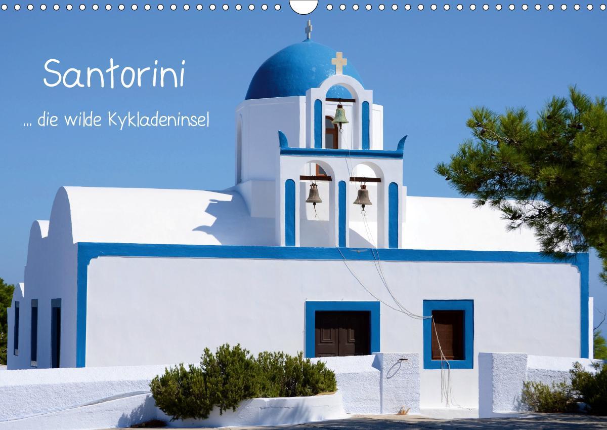 Santorini (Wandkalender 2021 DIN A3 quer)